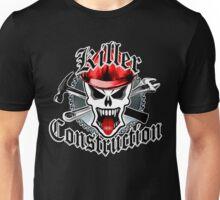 Construction Skull: Killer Construction Red 2.1 Unisex T-Shirt