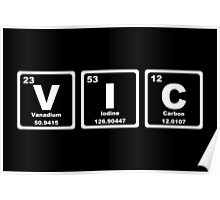VIC - Periodic Table Poster