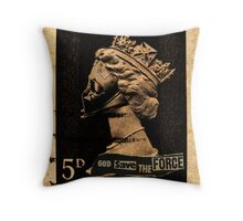 God Save The Force Throw Pillow