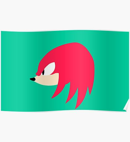 Sonic Mania - Knuckles Poster