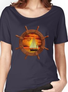 Sailboat Sunset Women's Relaxed Fit T-Shirt