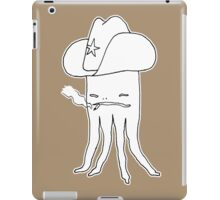 Octo-Sheriff only knows old school justice iPad Case/Skin