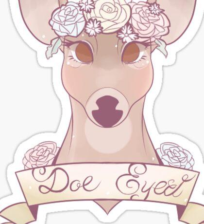Doe Eyed Sticker