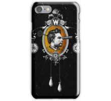 The Watchmaker (black version) iPhone Case/Skin