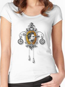 The Watchmaker (black version) Women's Fitted Scoop T-Shirt