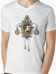 The Watchmaker (black version) Mens V-Neck T-Shirt