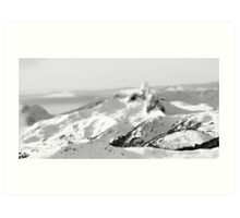 Backcountry & the Black Tusk Art Print