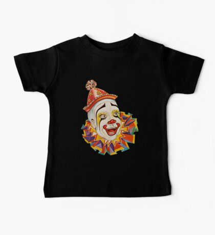 CLOWN, Clown Head, Circus, Vintage, Advertising, Poster, Scary Baby Tee