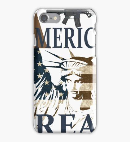 American great, t-shirt iPhone Case/Skin
