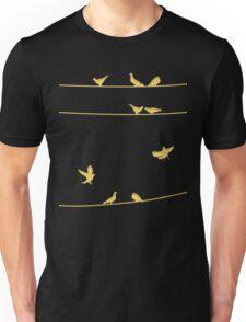 Birds on Wires Unisex T-Shirt