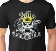 Construction Skull: Killer Construction Yellow 2.2 Unisex T-Shirt