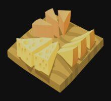 Glitch Food cheese plate by wetdryvac