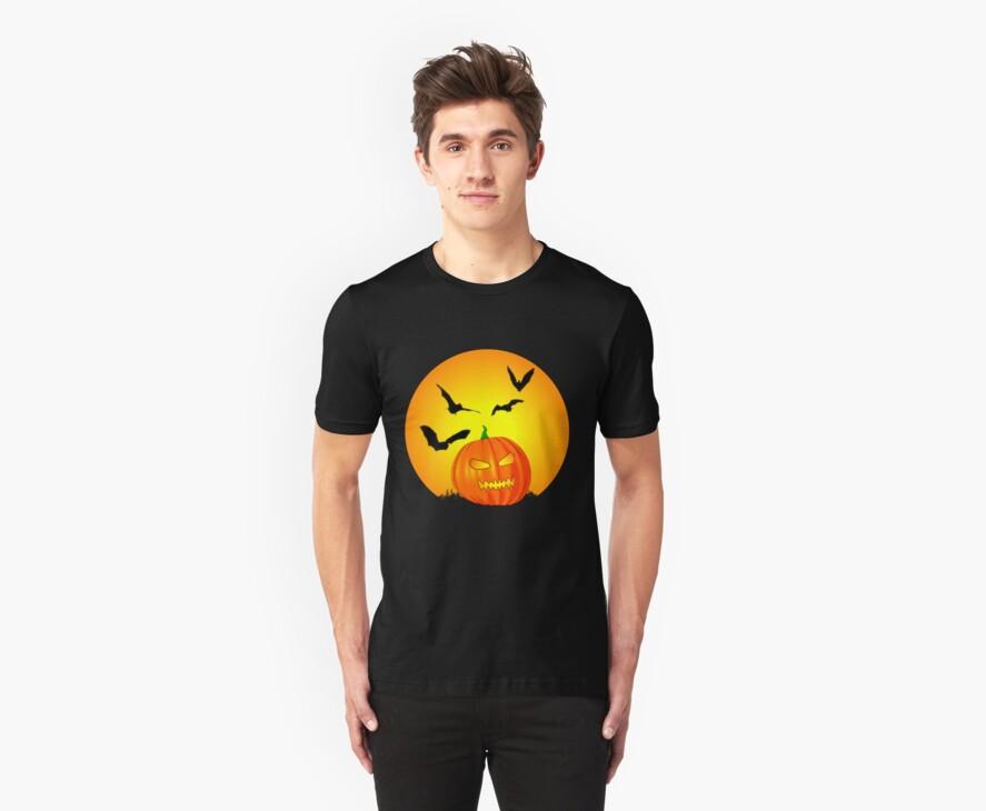 Halloween Moon Jack-O-Lantern by Packrat
