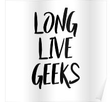 Long Live Geeks Poster