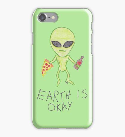Earth is Okay iPhone Case/Skin