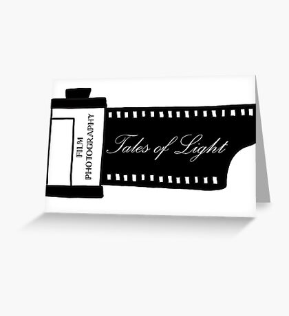 Film Photography - Tales of light Greeting Card