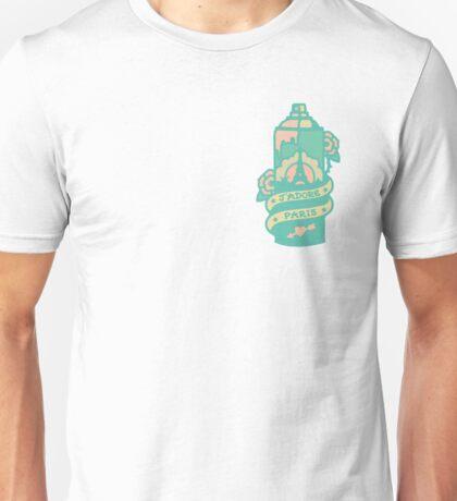Paris Spray Paint Can Unisex T-Shirt