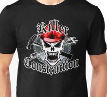 Construction Skull: Killer Construction Red 2.2 Unisex T-Shirt