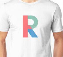 R Initial-TMHcoll Unisex T-Shirt