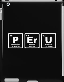Peru - Periodic Table by graphix