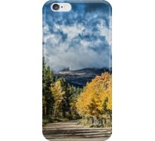 Changing Of The Colors - Colorado's New Coat iPhone Case/Skin