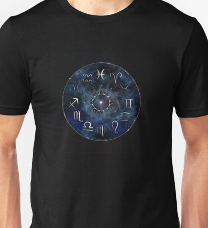 Zodiac Chart Unisex T-Shirt
