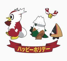 Happy Pokémon Holidays! One Piece - Short Sleeve