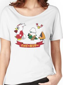 Happy Pokémon Holidays! Women's Relaxed Fit T-Shirt