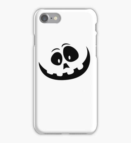 Carved Pumpkin Halloween Jack O Lantern iPhone Case/Skin