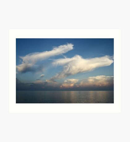 Lake Malawi Art Print