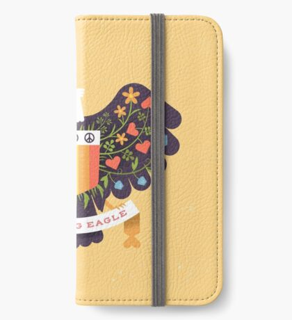Dreaming (not Screaming) Eagle iPhone Wallet