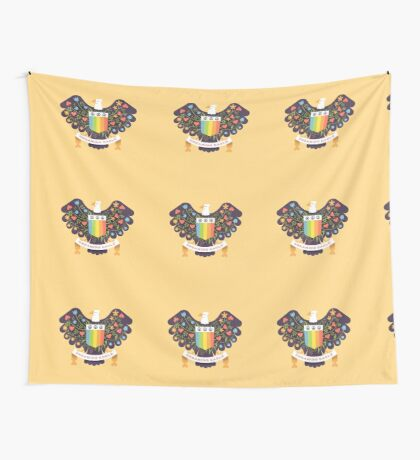 Dreaming (not Screaming) Eagle Wall Tapestry