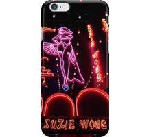 Suzie Wong bar on Soi Cowboy in Bangkok iPhone Case/Skin