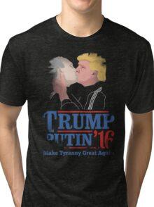 Trump And Putin Tri-blend T-Shirt