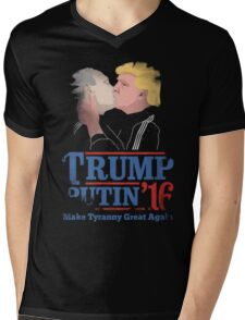 Trump And Putin Mens V-Neck T-Shirt
