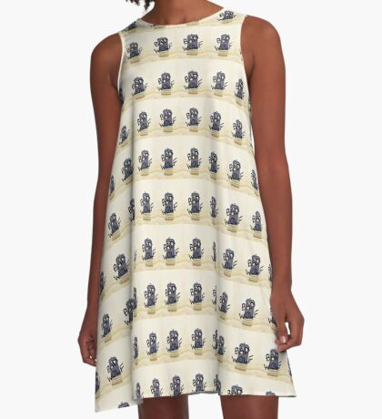 Bad Wolf Doctor Who A-Line Dress