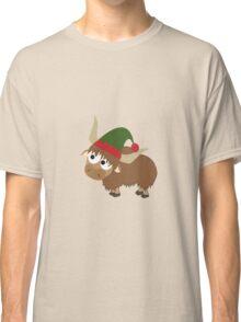Yak Christmas Elf Classic T-Shirt