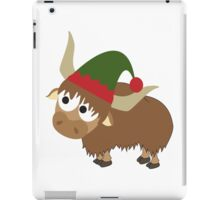 Yak Christmas Elf iPad Case/Skin