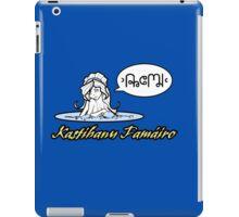 Kastihanu Famáiro iPad Case/Skin