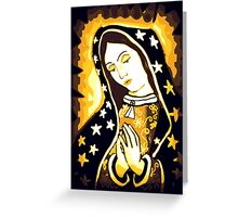 Our Lady of Guadalupe Virgin Mary Greeting Card