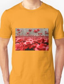 Tower Of London Remembers Unisex T-Shirt