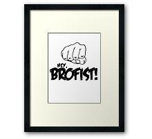 PewDiePie: Hey, Brofist Framed Print
