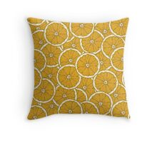 Orange Orange Throw Pillow