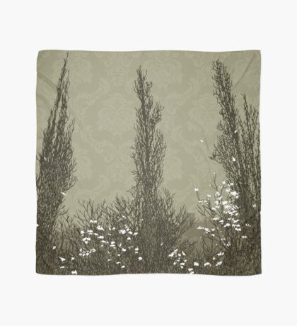 Cypress Trees: olive Scarf
