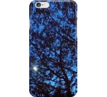 just a touch of moon shining through iPhone Case/Skin