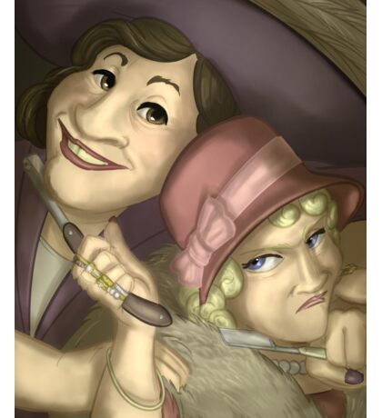 Kate Leigh and Tilly Devine - Rejected Princesses Sticker