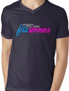 Fitz Simmons Mens V-Neck T-Shirt