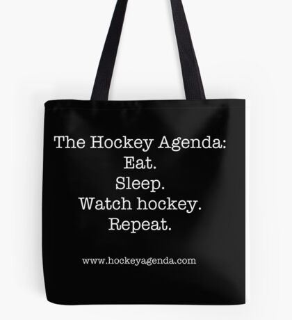 The Hockey Agenda Tote Bag