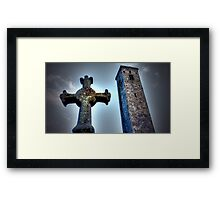St Andrews Cross Framed Print