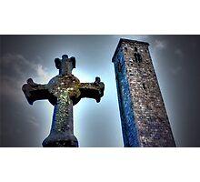 St Andrews Cross Photographic Print